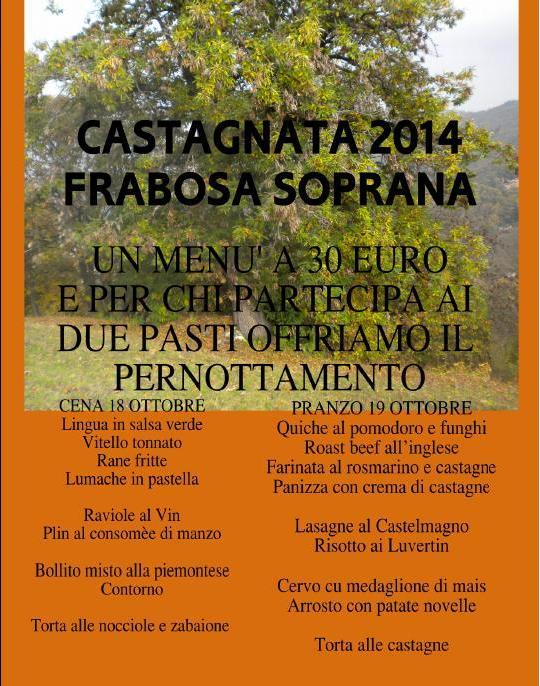 CASTAGNATA SOPRANA 2014