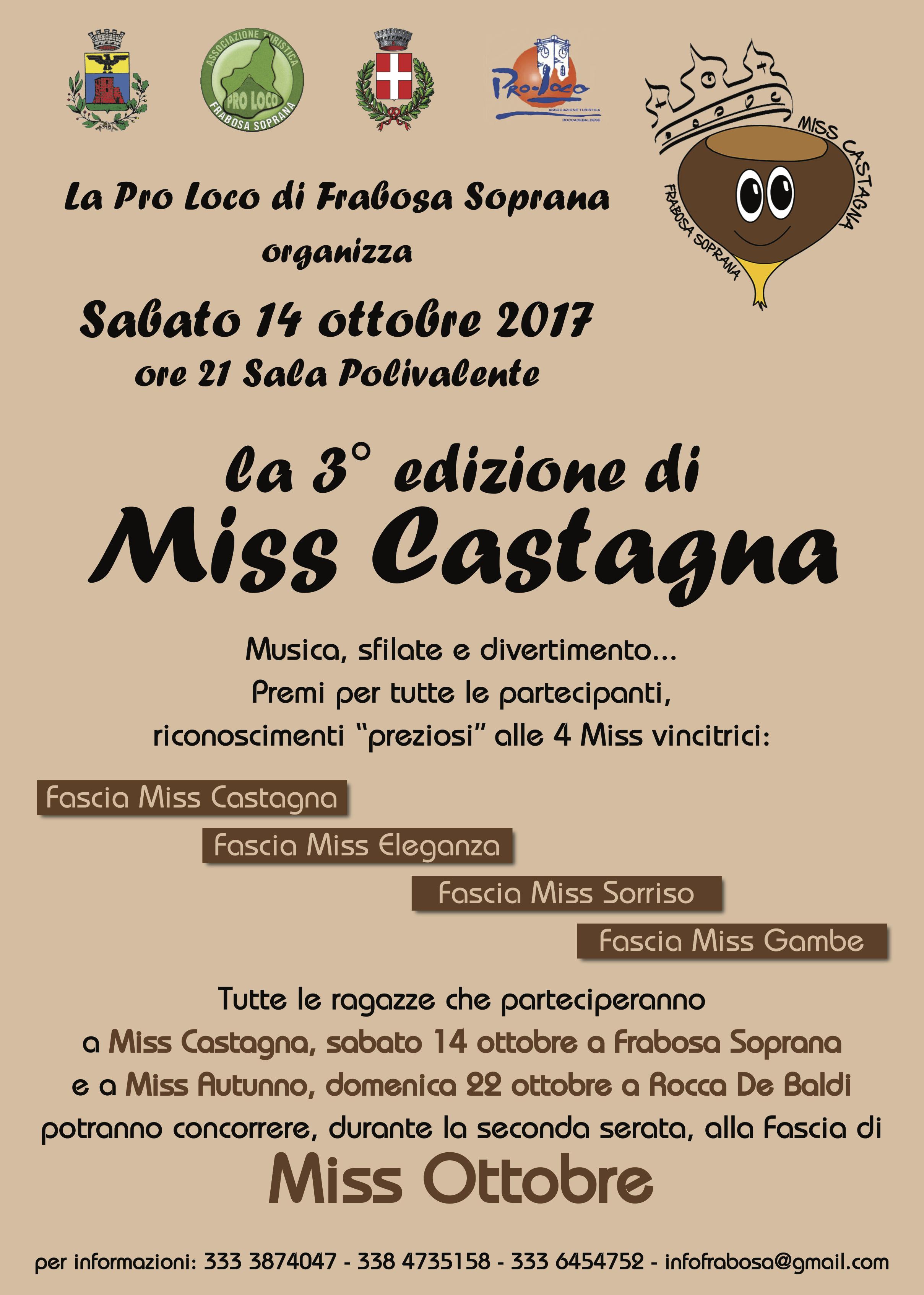 Miss Castagna 2017